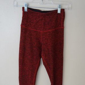 Red Beyond Yoga leggings